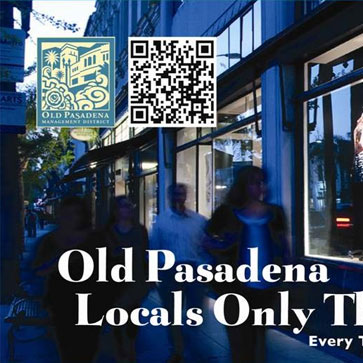 OLD PASADENA'S LOCALS ONLY THURSDAYS