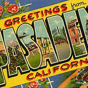 Welcome to Pasadena!
