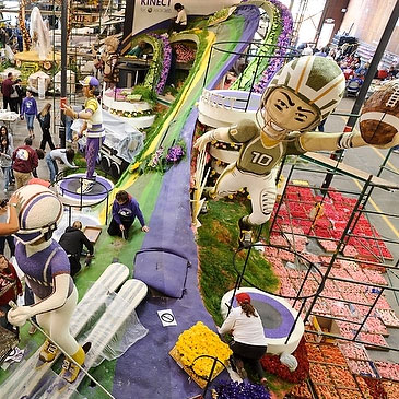 Advance Preview of the 2013 Rose Parade floats