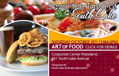 Taste of South Lake coming Oct. 15th